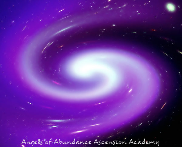 Cauldron of Violet Fire in a spiral of light