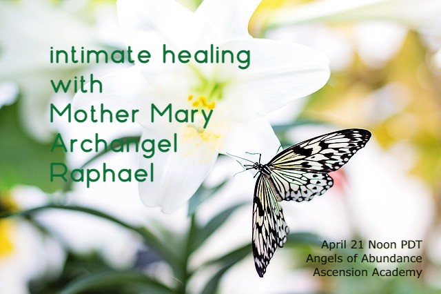 intimate healing w Mother Mary AA R
