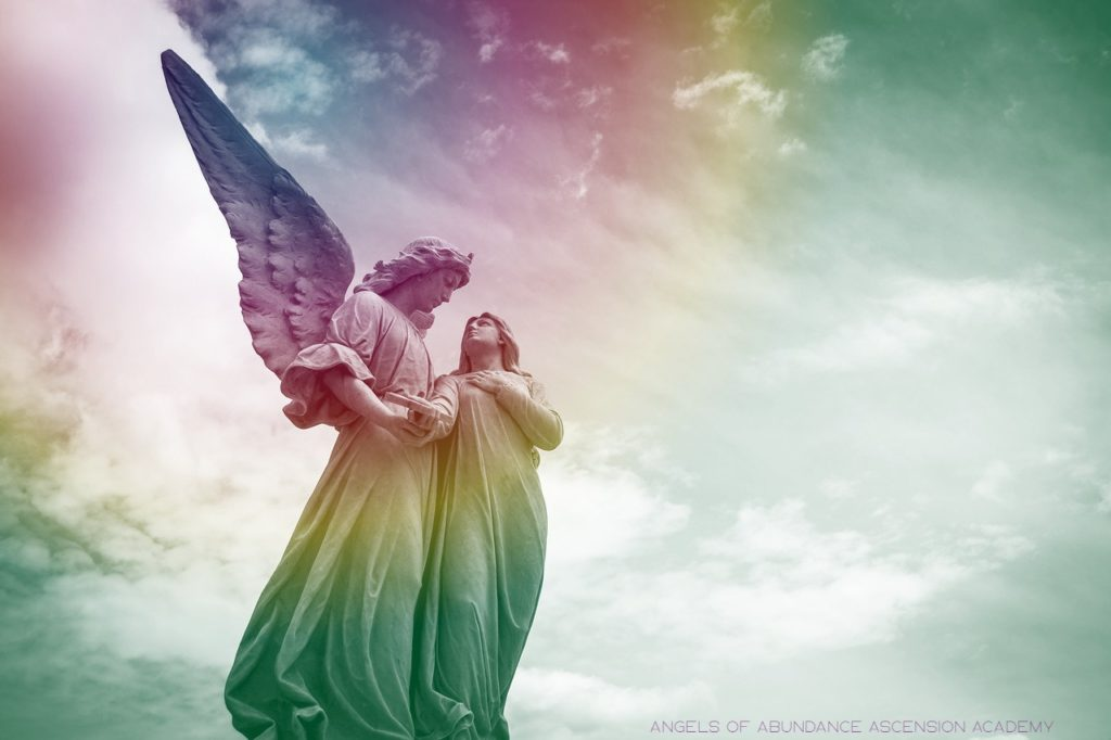 a picture of you and your guardian Angel